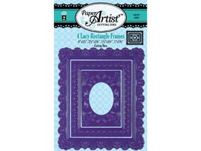 Paper Artist Cutting Die-Lacy Rectangle Frames