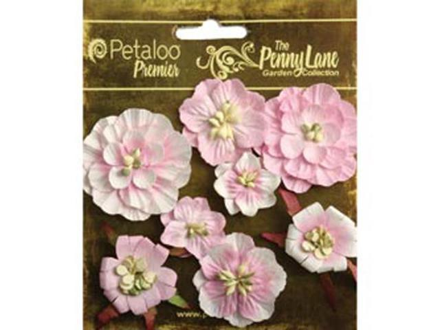 Penny Lane Mixed Blossoms 8/Pkg-Soft Pink