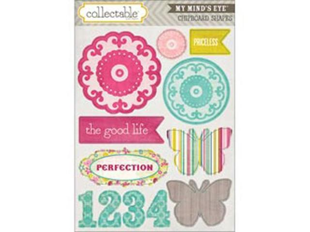 Collectable Memorable Chipboard Shapes-Perfect