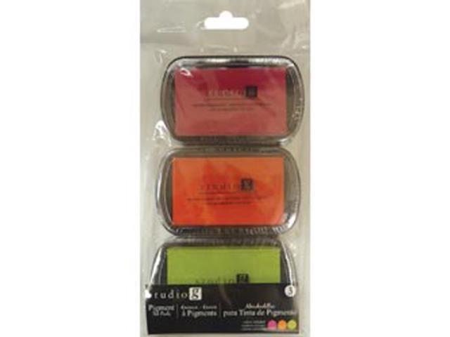 Pigment Ink Pads 3pk-Warmth