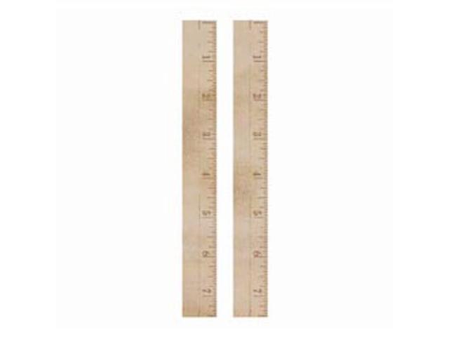Wood Flourishes-Rulers 2/Pkg
