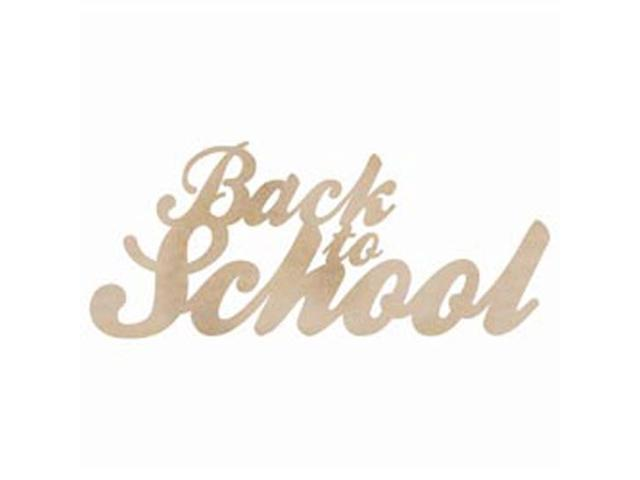 Wood Flourishes Words-Back To School
