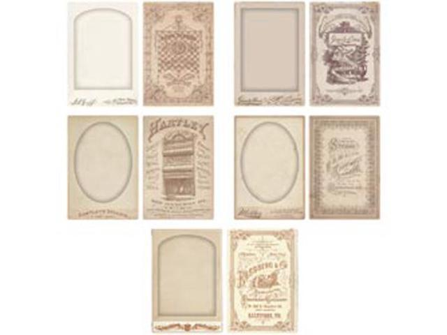Idea-Ology Cabinet Card Frames 5/Pkg-For 4