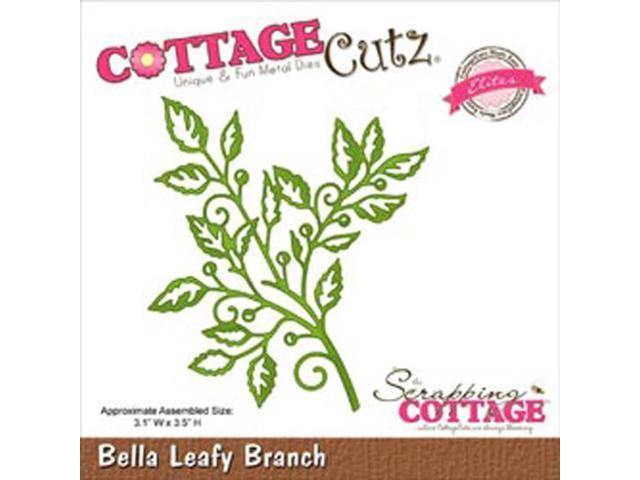 CottageCutz Elites Die-Bella Leafy Branch