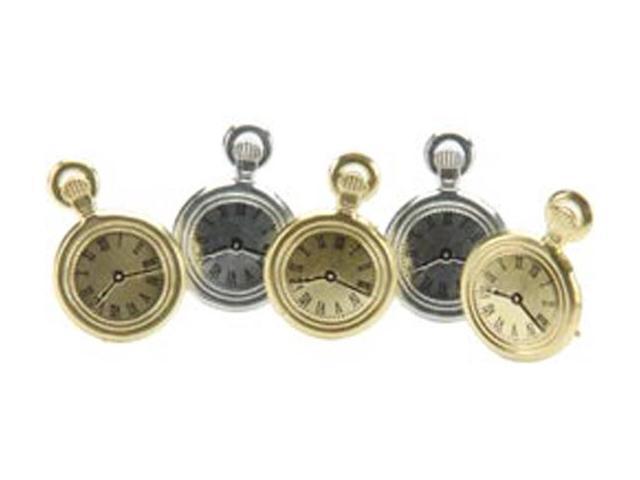Eyelet Outlet Brads-Pocket Watch 12/Pkg