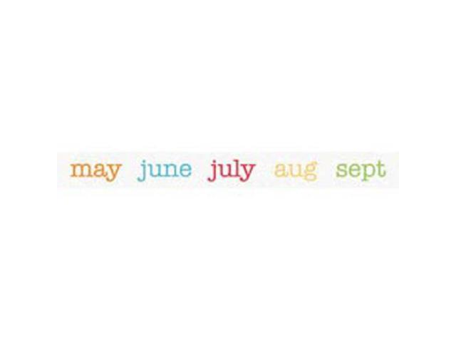 Take Note Washi Tape-Calendar Of Color