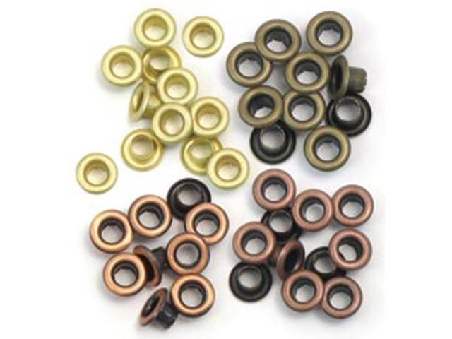 Eyelets Standard 60/Pkg-Warm Metal