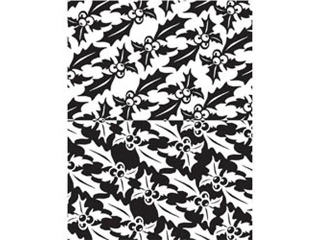 Melt Art Texture Treads-Retro Holly