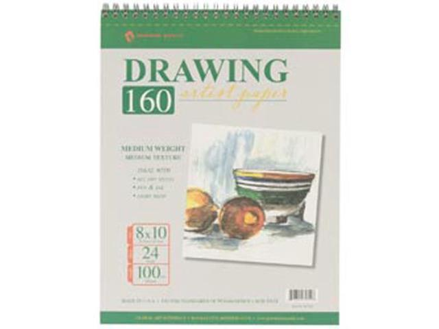 Drawing Pad 100# 24 Sheets/Pkg-8