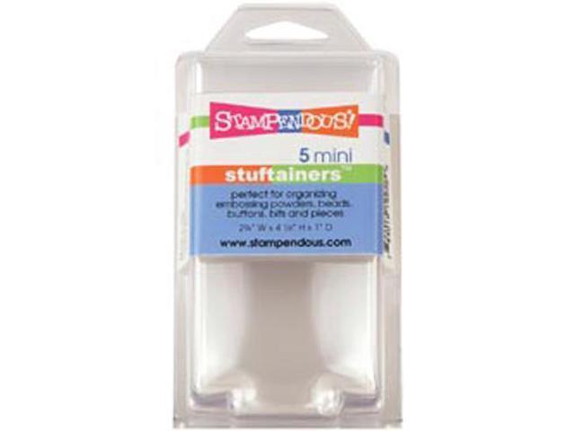 Stampendous Mini Stuftainers 5/Pkg-