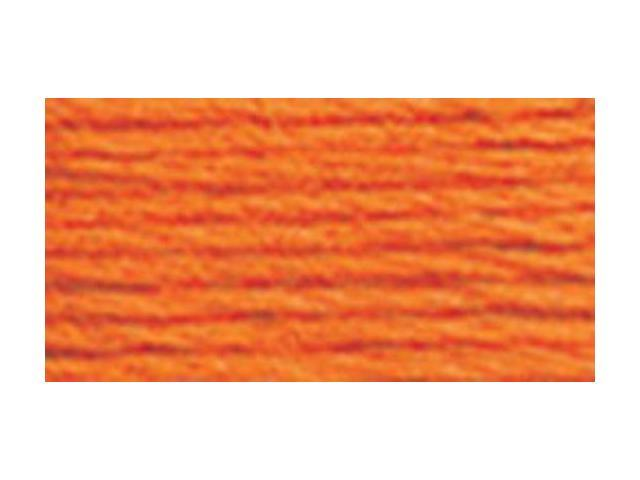 DMC Six Strand Embroidery Cotton 100 Gram Cone-Pumpkin Light