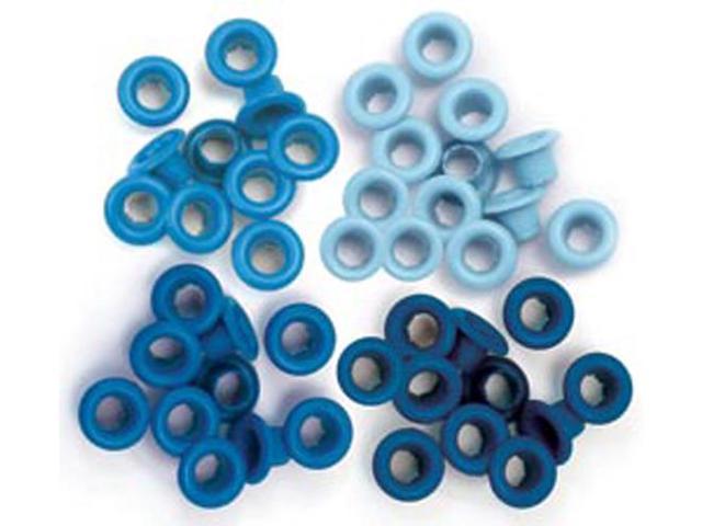 Eyelets Standard 60/Pkg-Blue