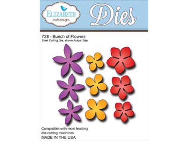Elizabeth Craft Metal Die-Bunch Of Flowers