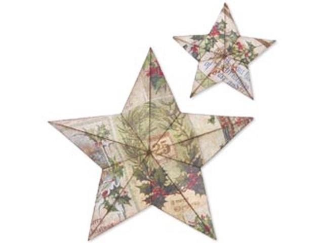Sizzix Bigz Large Die By Tim Holtz-3-D Star Bright