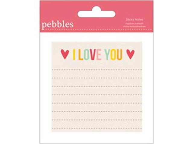 Love You More/Girl Sticky Notes -