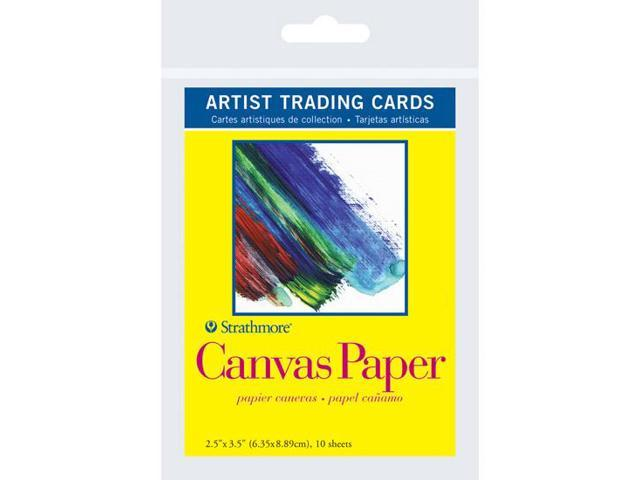 Pro-Art 105903 Strathmore Artist Trading Cards 2.5''X3.5'' 10/Pkg-Canvas