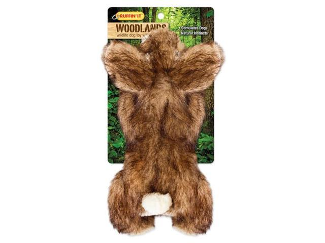 Woodlands Large Plush Rabbit Dog Toy-