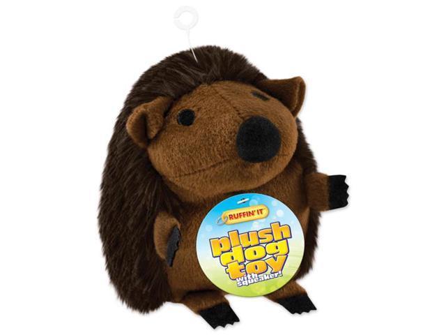 Large Plush Hedgehog Dog Toy-