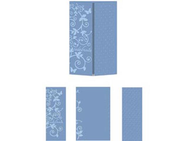 eBosser Embossing Folders A4 Size-Magic Celebration