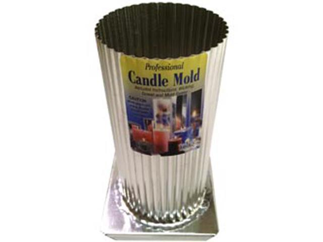 Professional Metal Candle Mold-Mini Scallop Round 3