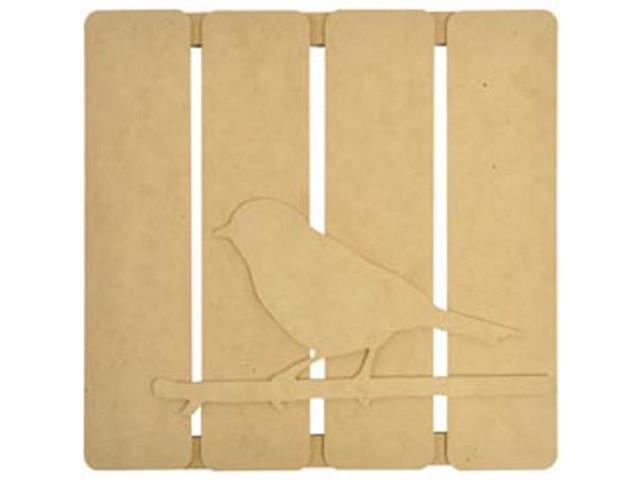Beyond The Page MDF Bird On Twig 3-D Wall Art-11.5