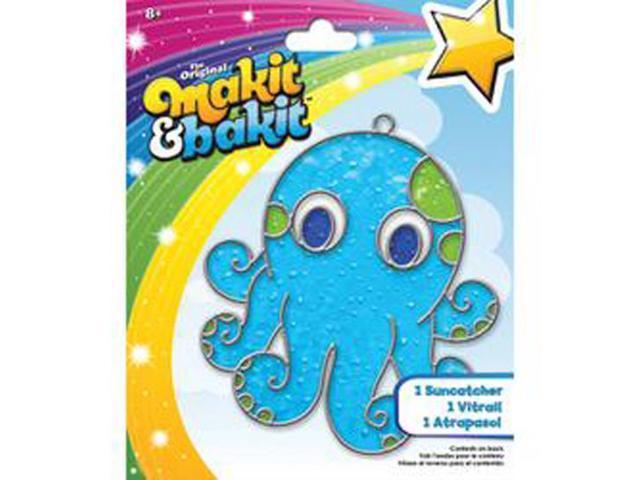 Makit & Bakit Suncatcher Kit-Octopus
