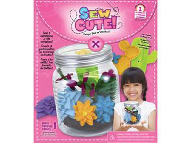 Sew Cute Terrarium Sewing Kit-
