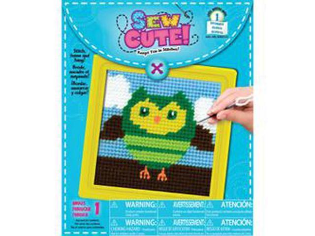 Owl Learn To Sew Needlepoint Kit-6