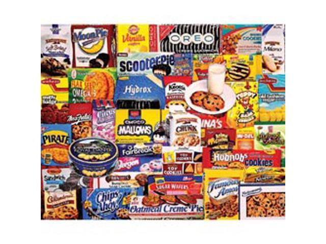 Cookies 1000 Piece Puzzle by White Mountain Puzzles