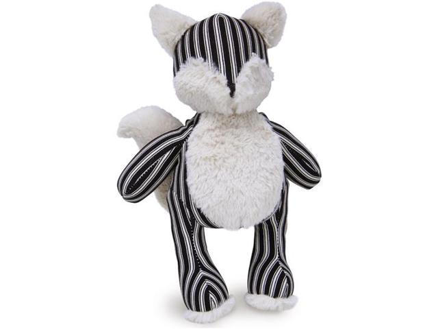Loved Ones Durable Fox Dog Toy-Large-Black And Natural
