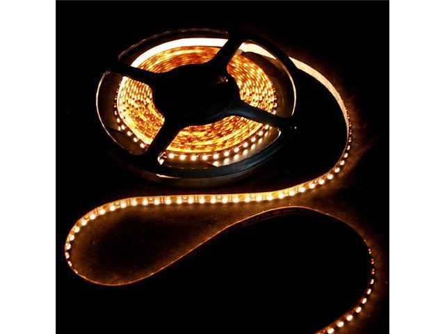 5M SMD 3528 600 LED Strip Light Warm White Non-Waterproof