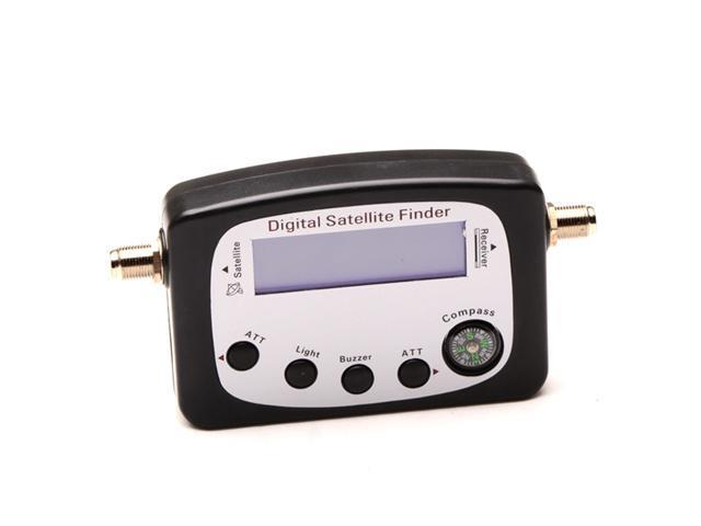 Mini Digital Satellite Signal Finder Meter LCD Displaying Compass