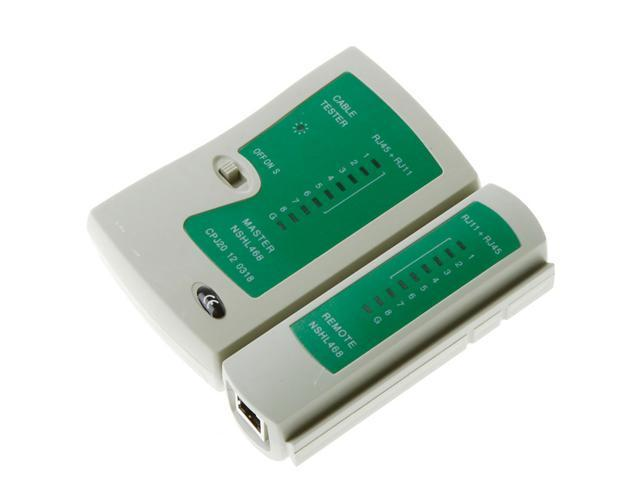 RJ45 RJ11 RJ12 CAT5 UTP NETWORK LAN USB CABLE TESTER