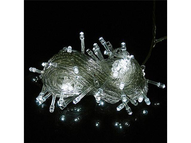 100 LED 10m String Decoration Light for Christmas Party Wedding White 110V