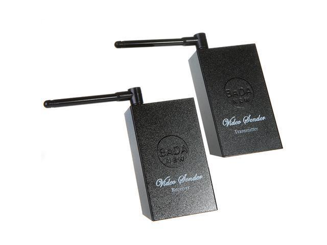 2.4GHz 4 Channels A/V Audio Video Sender Wireless Transmitter Receiver