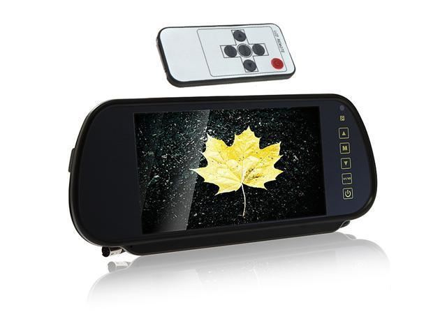 """7"""" Color TFT LCD Car Rearview Monitor for Camera DVD VCR"""
