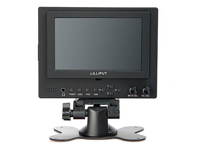 "Lilliput 5"" 569GL-50O/P LCD Video Camera Monitor with HDMI YPbPr UK Plug"