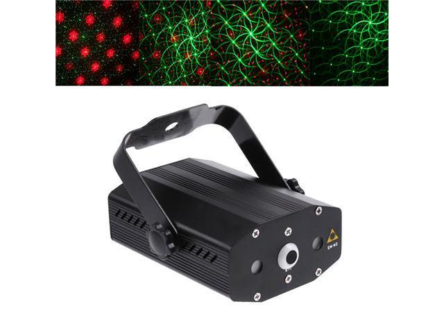 Mini Multicolor Red & Green Moving Party Stage Laser Light Projector