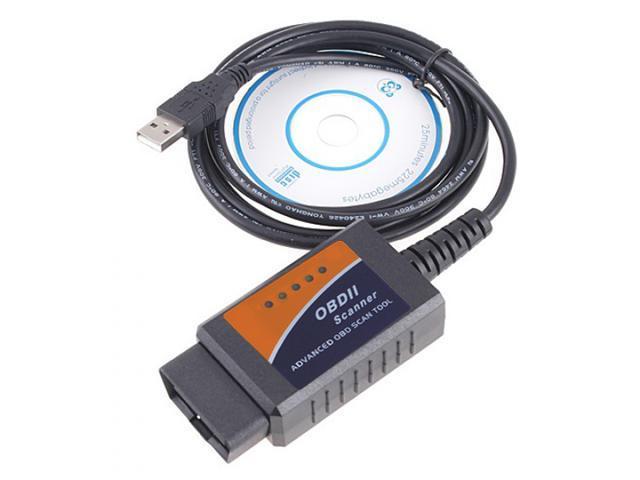 V1.5 ELM327 OBD2 CAN-BUS Diagnostic Interface Scanner