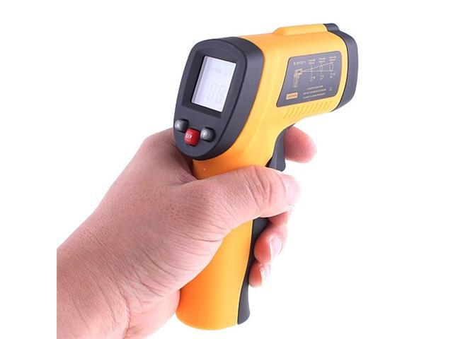 Digital Non-Contact Handheld IR Infrared Thermometer with Laser Targeting -50°C to 380°C Accurate Temperature
