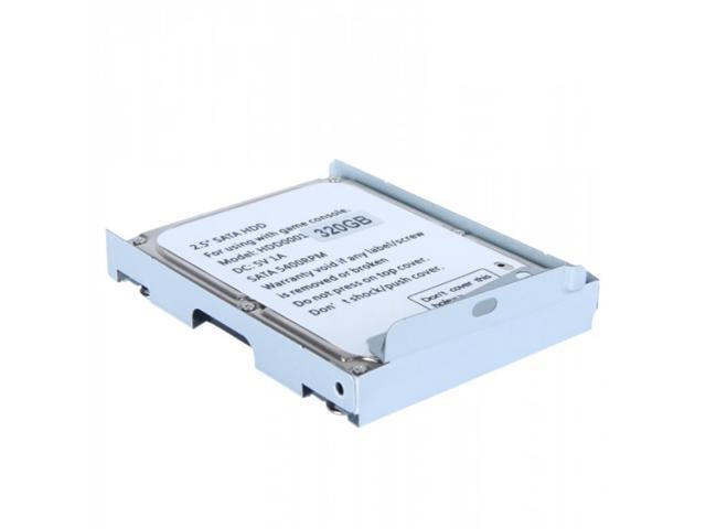 2.5in SATA Hard Disk Drive with HDD Super Slim Mounting Bracket for PS3 System CECH-400x Series 320G
