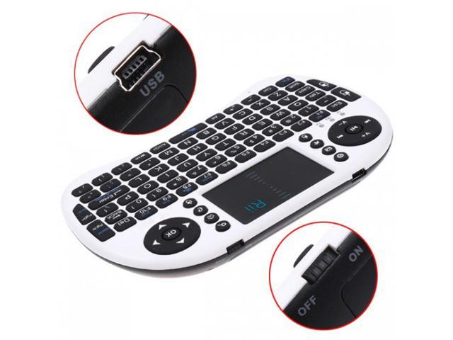 2.4G Rii Mini i8 Wireless Keyboard with Touchpad for PC Pad Google Andriod TV Box