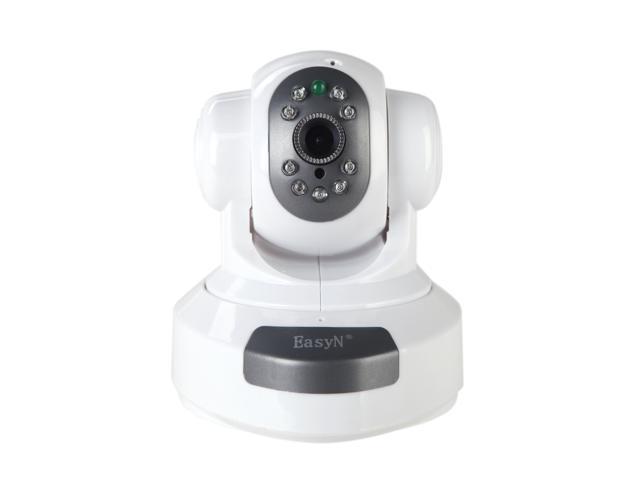 EasyN Wireless WiFi IP Camera HD 1MP CMOS CCTV Security System Alarm PT HD 1MP