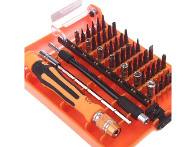 45-in-1 Professional Hardware Screw Driver Multi function for Home Repair Automotive Tool Kit