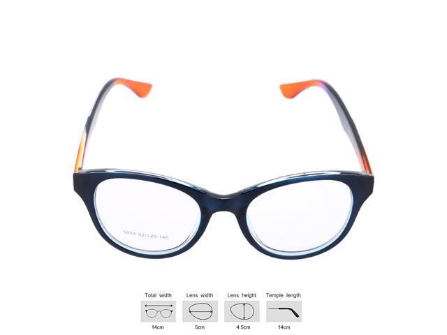 Fashionable Gradient Color Big Lenses Eyeglasses Glasses ...