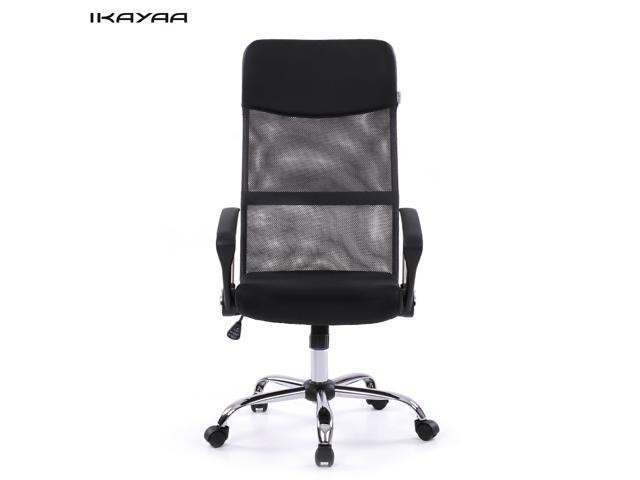 ikayaa ergonomic mesh adjustable office executive chair stool high back swivel computer task chair office bedroomsweet ergonomic mesh computer chair office furniture