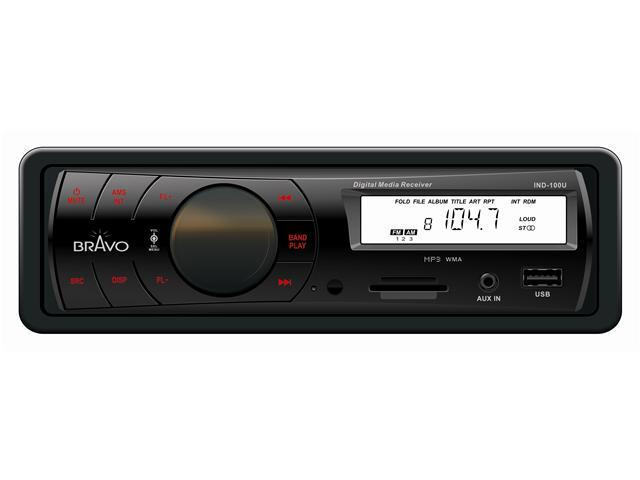 BRAVO VIEW IND100U IN DASH DIGITAL MEDIA RECEIVER WITH AM FM
