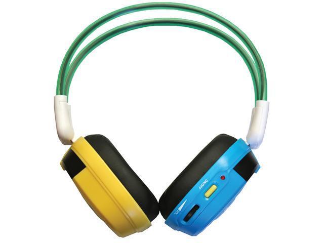 Bravo View IH-03A Automotive Mobile Video System IR Wireless Headphones