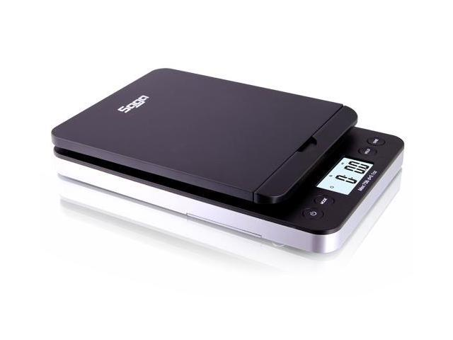 SAGA 86 LB Digital Postal Shipping Scale 0.1 Oz Weight Postage W/AC USB M S Pro Model - Black
