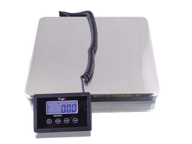 Saga 360 lb x 0.2 s Digital Postal Shipping Scale w/ AC 160 KG